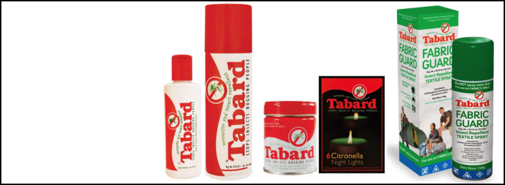 tabard insect repellants